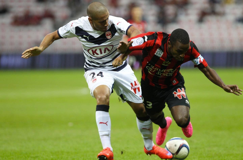 Le défenseur niçois Ricardo Pereira.
