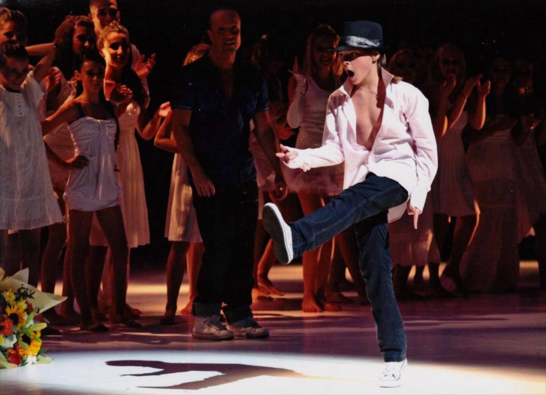 Steve Wdowik rend hommage à Michael Jackson.