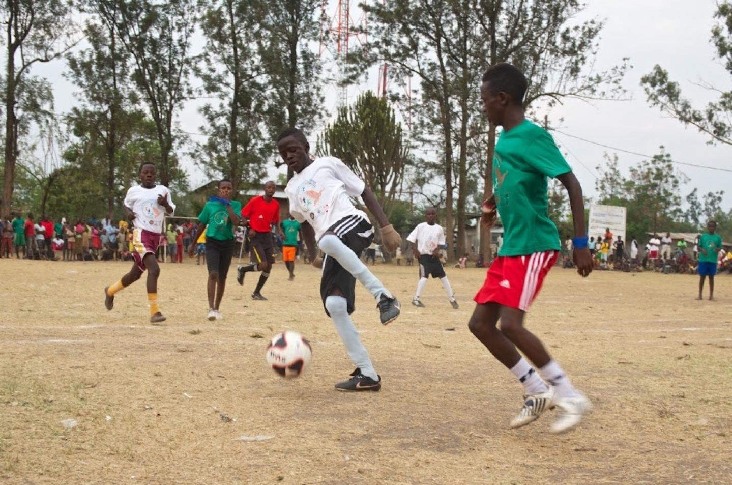 Parmi les projets supportés par Peace and Sport, la sixième édition des Jeux de l'Amitié, qui vient de s'achever au Rwanda.