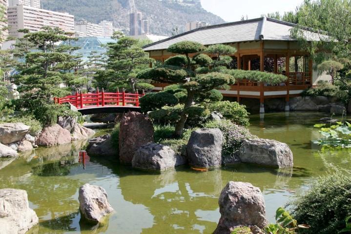 Au cœur du Larvotto, le Jardin japonais est une perle d'exotisme.