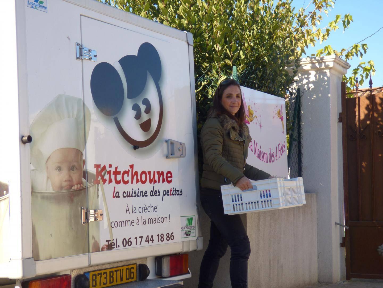 Laurence Molinos propose avec sa société Kitchoune des menus bio et réalisés à base de produits locaux. Du « fait maison » pour les petits.
