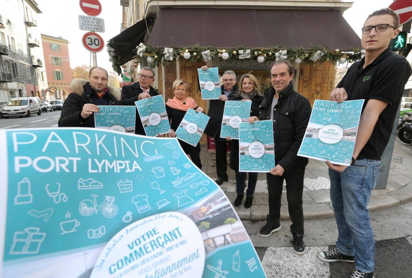 Au port de Nice, les commerçants offrent une à deux heures de parking.
