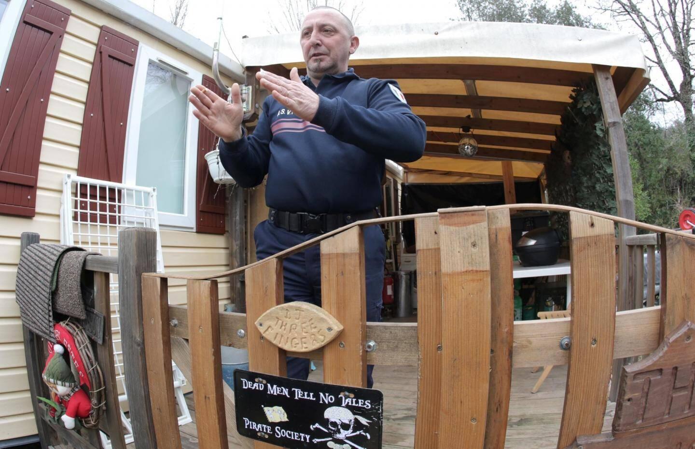 Au camping du Sourire à Villeneuve-Loubet, Jean Mocq est toujours relogé provisoirement.