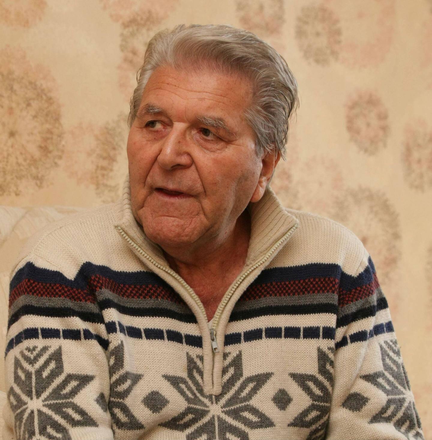 Roger Polvé, 91 ans sous peu.