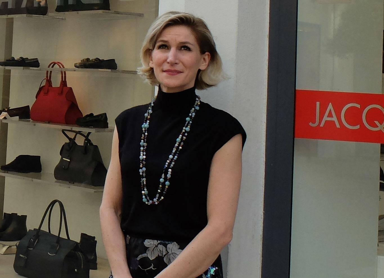 Emmanuelle Belmont se réjouit de la ZTI. La boutique est présente rue d'Antibes depuis 3 générations.