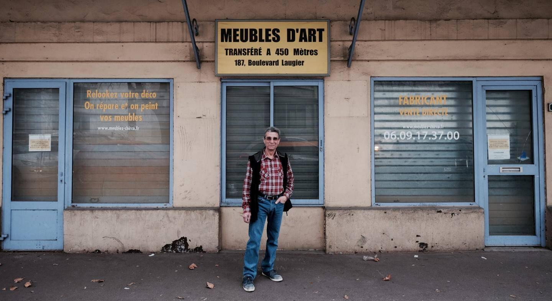 """Robert Chirco a déménagé il y a trois ans. Le local qu'il occupait à Bon-Rencontre est """"frappé d'alignement"""". Autrement dit, c'est à cet endroit que devrait passer le futur TSCP. Mais aujourd'hui, les travaux sont toujours au point-mort à l'ouest de Toulon."""