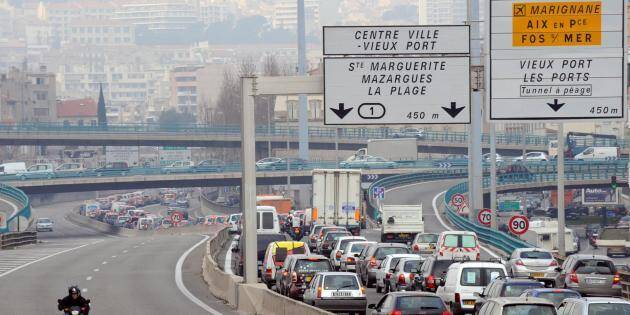 Nice arrive en sixième position sur la liste des villes les plus embouteillées.