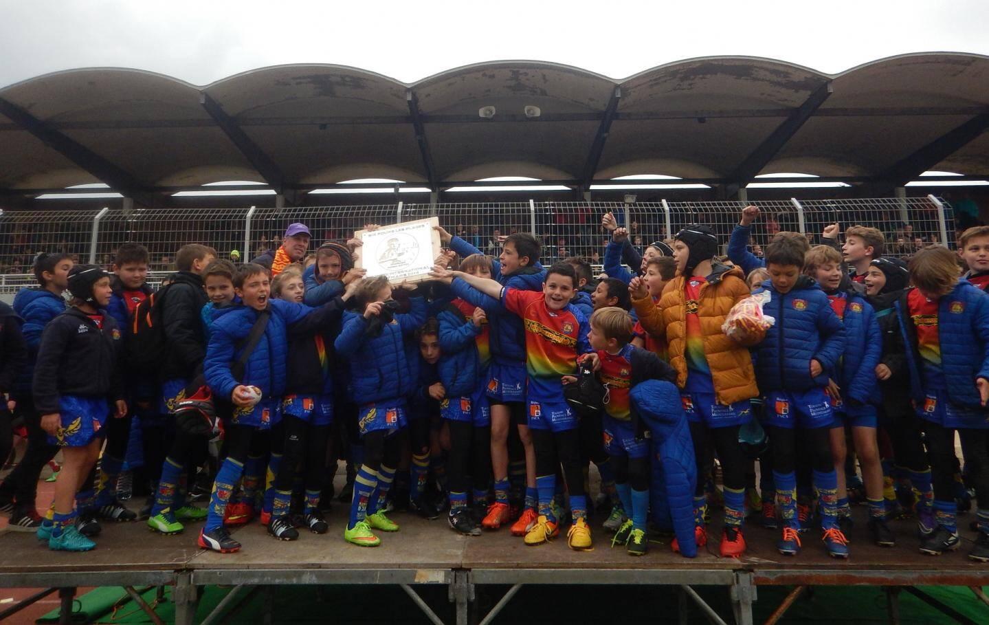 Les jeunes du Pays Six-Fournais (M10 et M12) finissent à la troisième place.