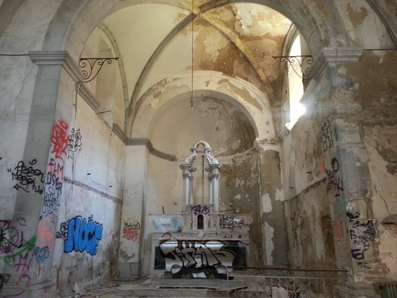 La chapelle du couvent des Capucins, inscrite aux Monuments historiques à la suite de l'intervention de la société d'études de Draguignan.