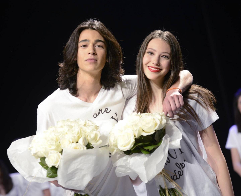 Margot et Mathias, les gagnants du concours Enjoy models