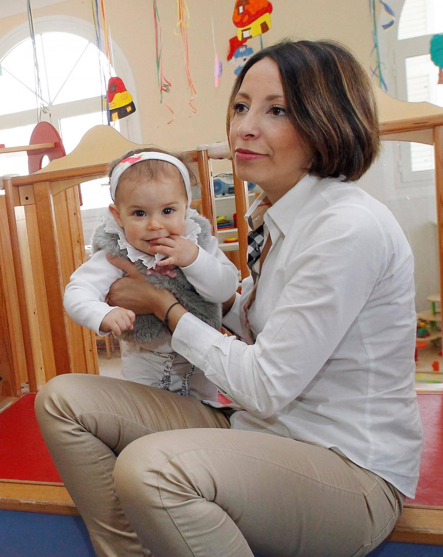 Sofia a repris sereinement le travail après être allée à l'espace parents lorsque Victoria avait 2 mois.