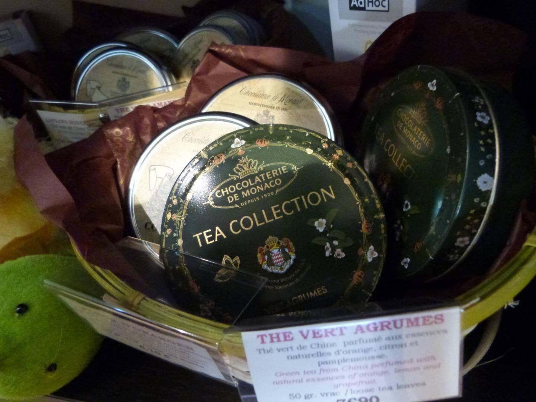 Les thés se déclinent du vert au noir.
