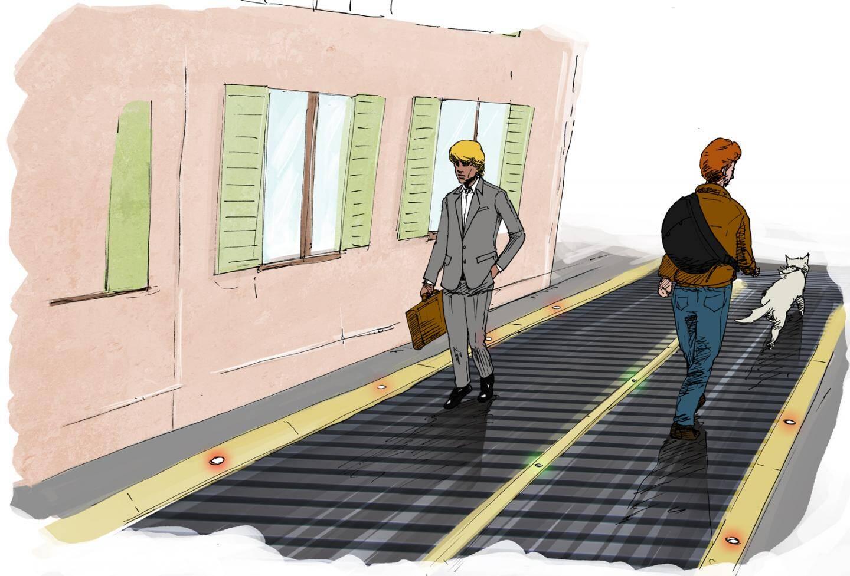 A Nice en 2044, les trottoirs seront-ils remplacés par des tapis roulants?