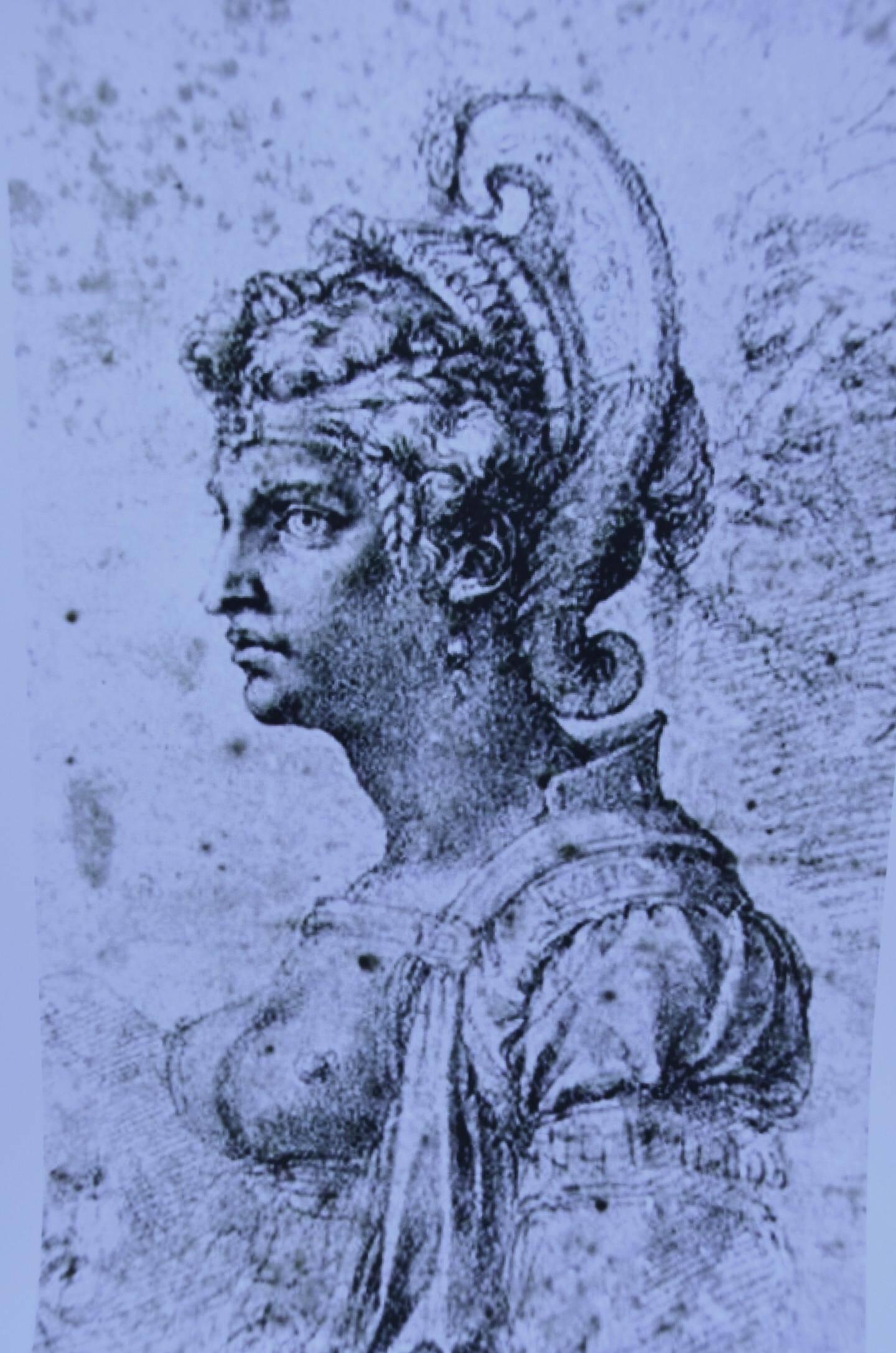 Si aucun portrait de Zénobie ne nous est parvenu,  sa légende inspira ce portrait à Michel-Ange.