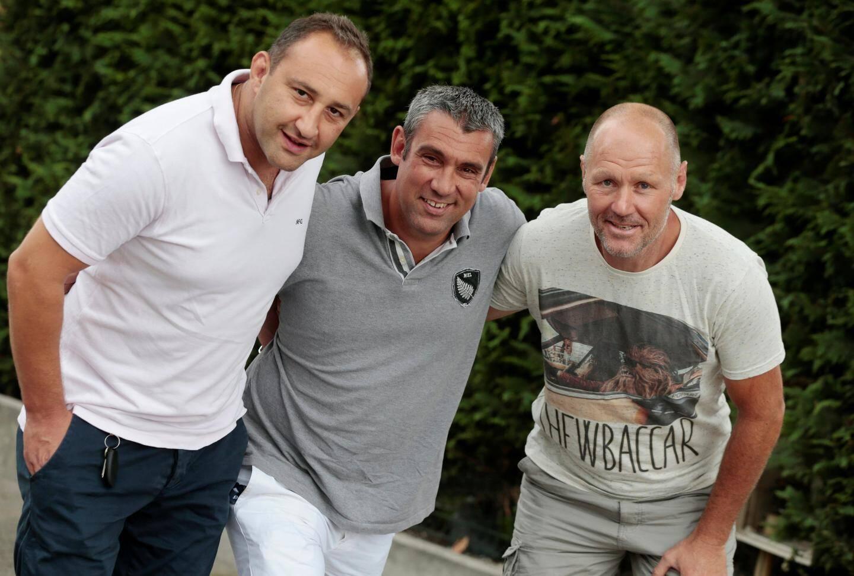 David Bolgashvili, Nicolas Bonnet et Hervé Moni, le staff azuréen, entend débuter par un succès.