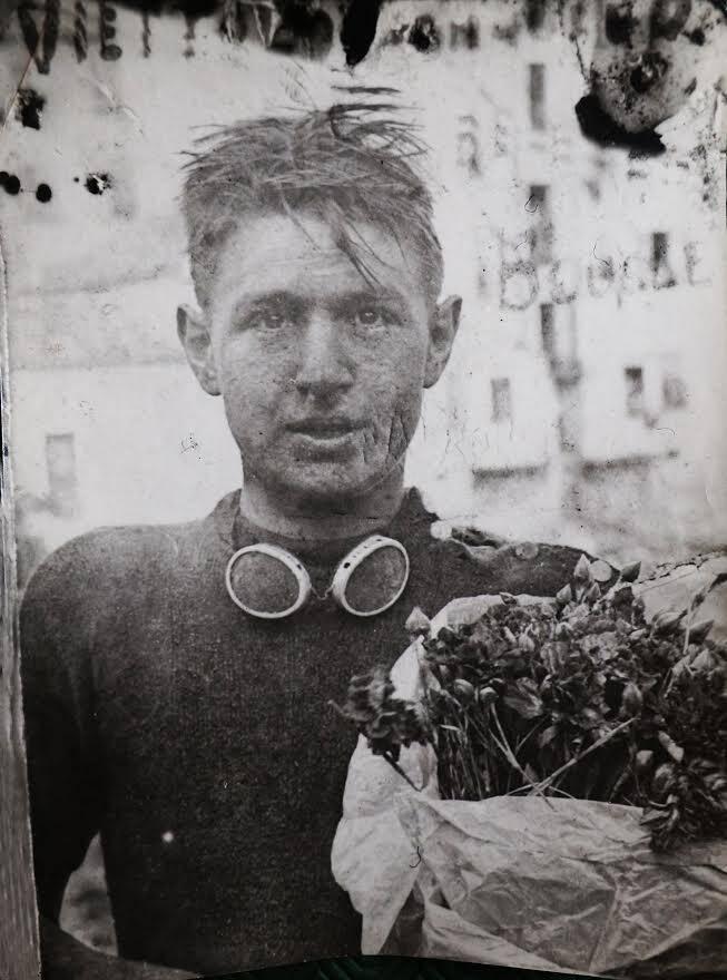 1re Victoire de René Vietto aux Boucles de Sospel en 1931, à 17 ans.(DR)