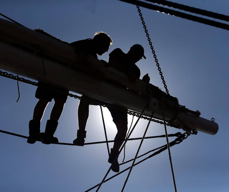 Les membres de l'équipage forment les stagiaires avertis ou non et sert également de camp d'entraînement à des mousses de la Marine nationale
