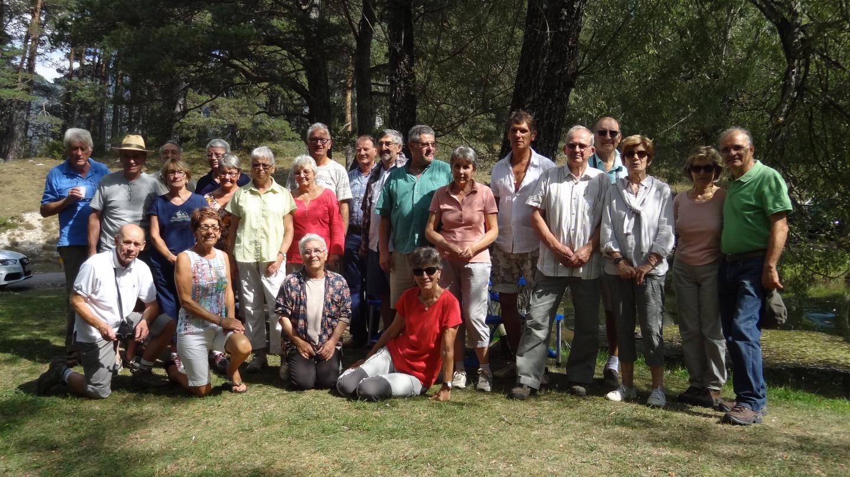 Les anciens du Brunet fidèles à leur rendez-vous annuel.