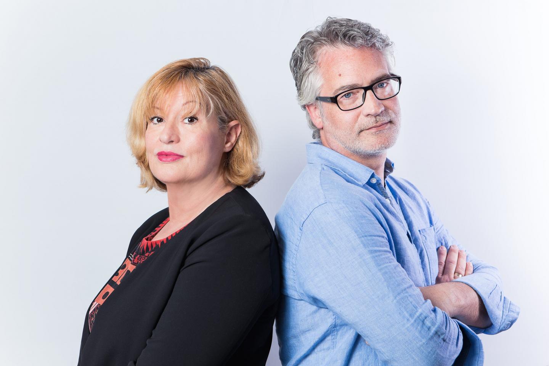 Brigitte Rico et Georges Rocco. Une co-signature pour un polar effrayant, où les imaginaires des deux auteurs ont communié dans la surenchère.