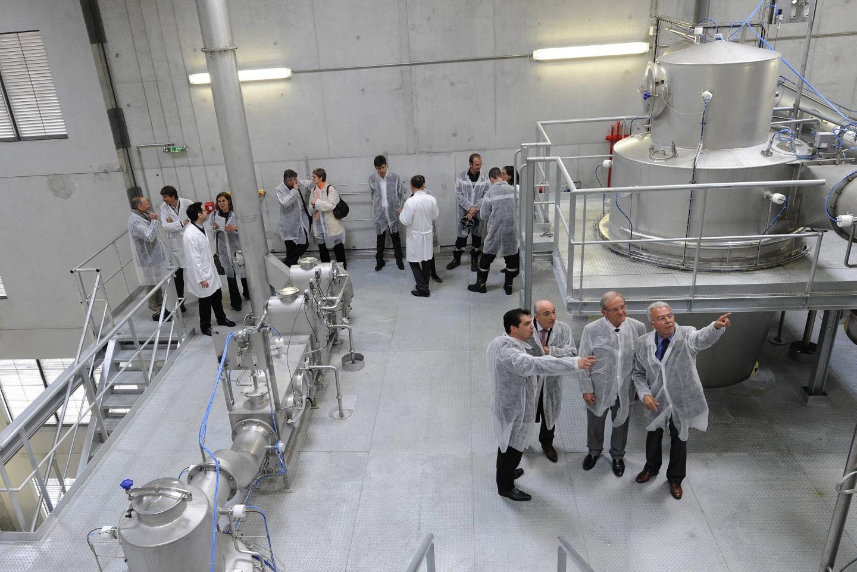 En avril2015, Robertet inaugurait au Plan une nouvelle unité de production d'arômes en poudre.