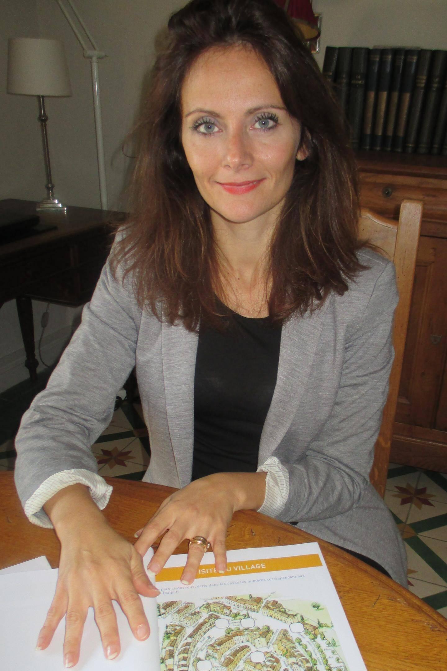 Simona Demanche, de l'office du Tourisme, a créé des rallyes de découverte ludiques pour les enfants.