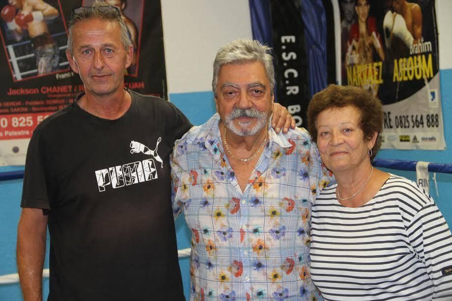 Les Cannettans Patrick Plançon, Gilbert Maggioni, et Thérèse Rave, élus au comité départemental.(G.M.)