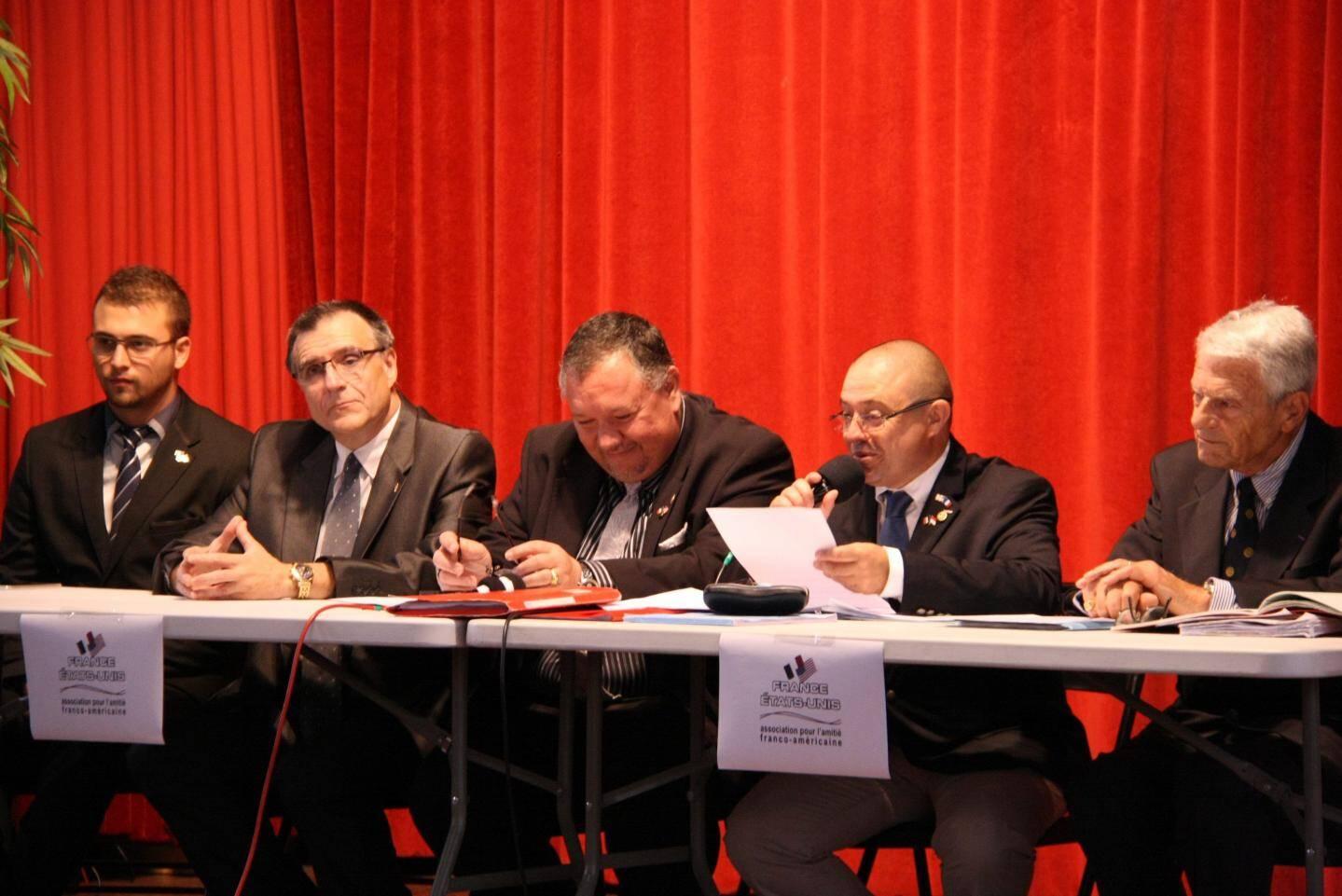 Les membres se sont réunis le 1er octobre pour leur AG annuelle sous la houlette de leur président-fondateur, Thierry Chevallier