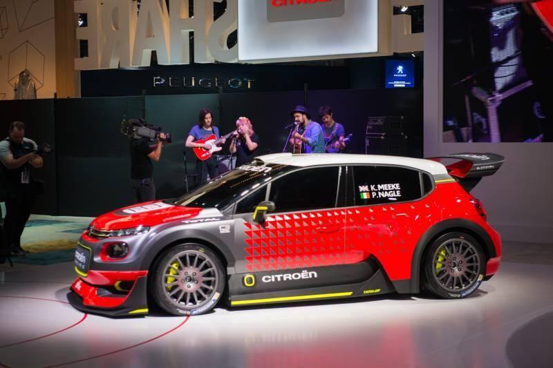 Le concept Citroën C3 WRC semble taillé sur mesure pour défier la référence Volkswagen.