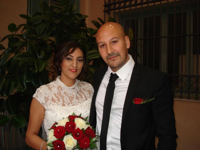 Hanane Azza, sans profession, et Yassine el Janyani, ingénieur en matériaux.