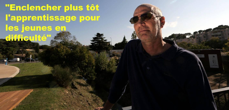 Jean-Paul Munoz, directeur de la MJC centre social coeur de Ranguin à Cannes.
