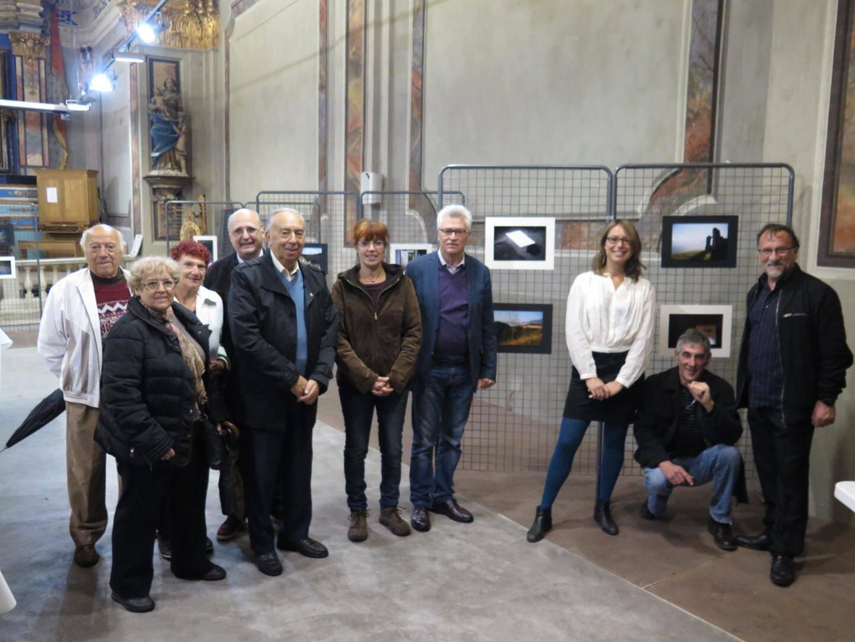Le vernissage s'est déroulé en présence du maire André Ipert, de la conseillère départementale Valérie Tomasini et des adjoints Mario Amerio et Michel Masseglia.