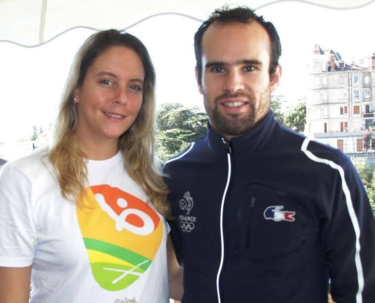 Joëlle Vallez et Sébastien Martini.