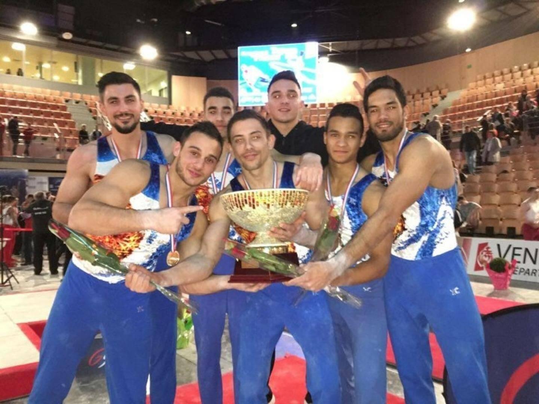 L'équipe antiboise championne de France 2 016.(DR)