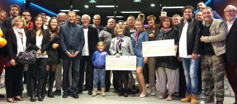 Les organisateurs du Rotaract ont réuni les gagnants, partenaires et bénéficiaires de la Duck race pour une remise des prix placée sous le signe du partage et de l'altruisme.