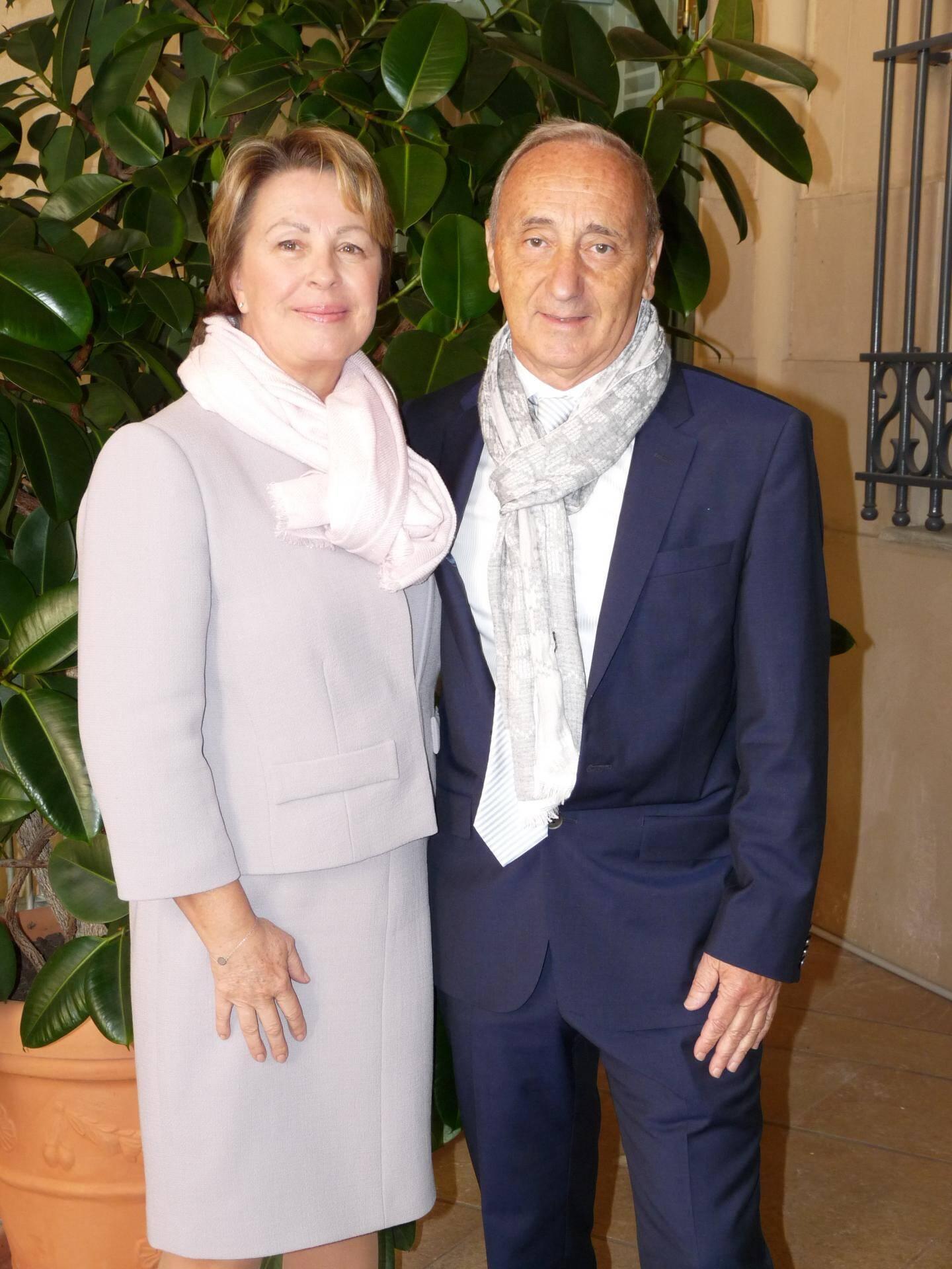 Marie-Madeleine Delatour, infirmière, et Patrick Sauer, ingénieur.