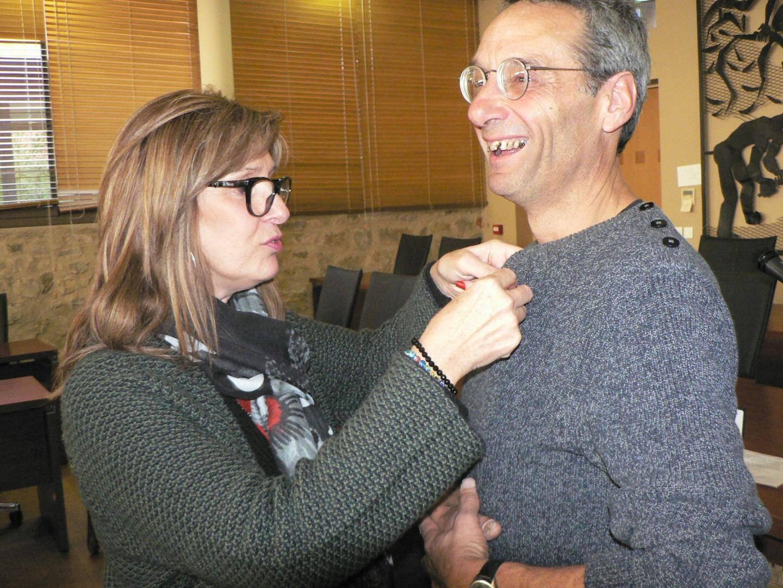 La première adjointe Christine Prémoselli, représentant le maire retenu par ailleurs, a décoré de la médaille de la ville Frédéric Spina. L'autre a été décernée à Luigi, à titre posthume. Et sera remise à sa sœur, Cathy Serre.
