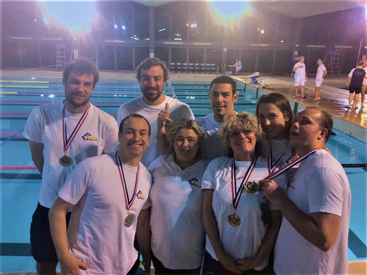 Les Maîtres départementaux, une échéance qui a mis en valeur les nageurs plus âgés.(DR)