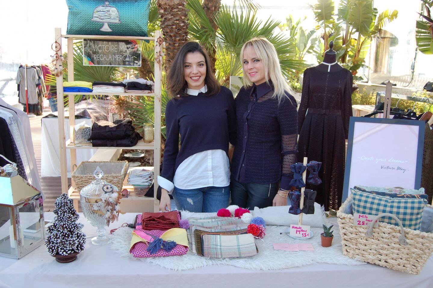 Laure Capellini et Julie Lageyre présentent leurs créations « Mix and match ».