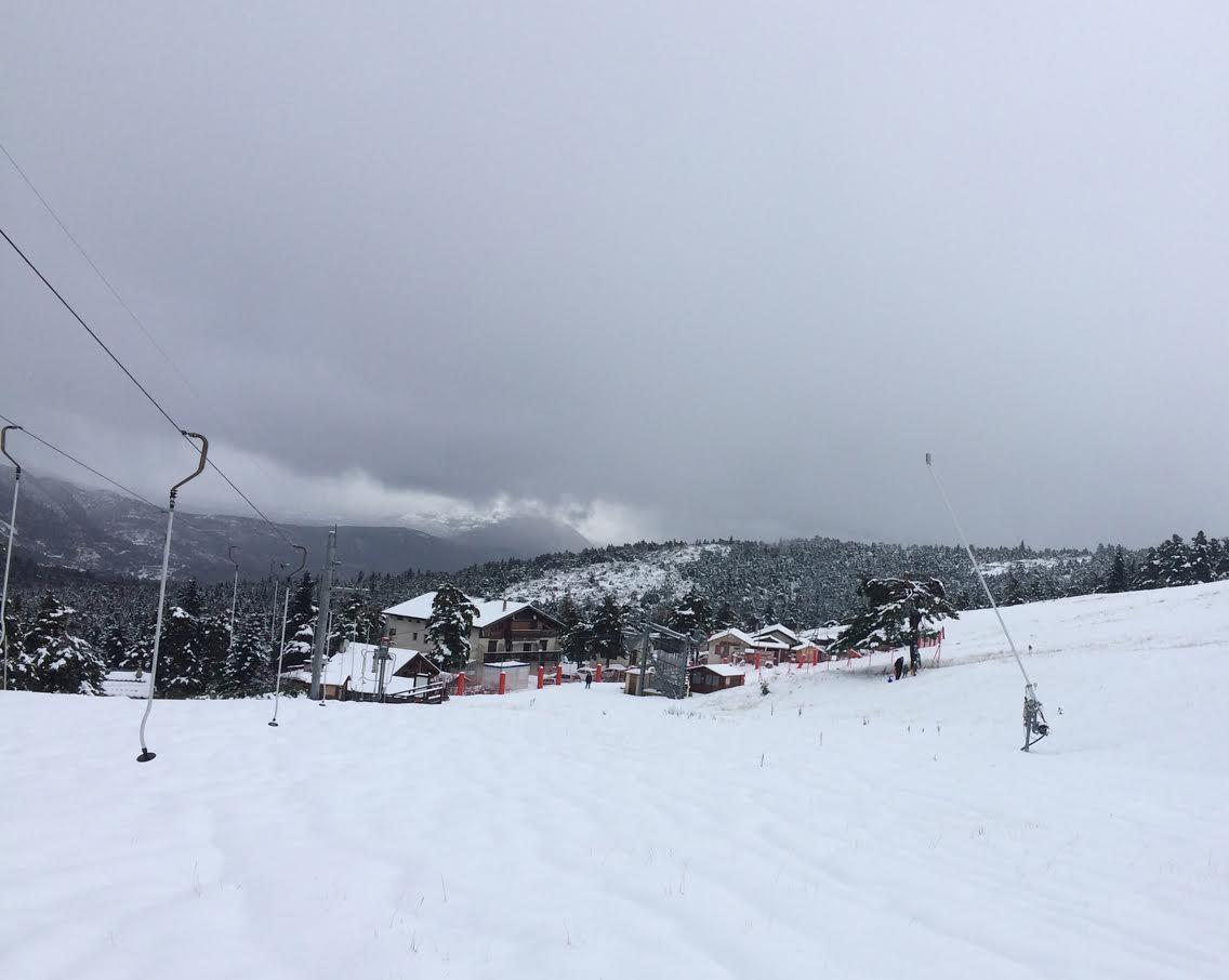 La neige à L'audibergue