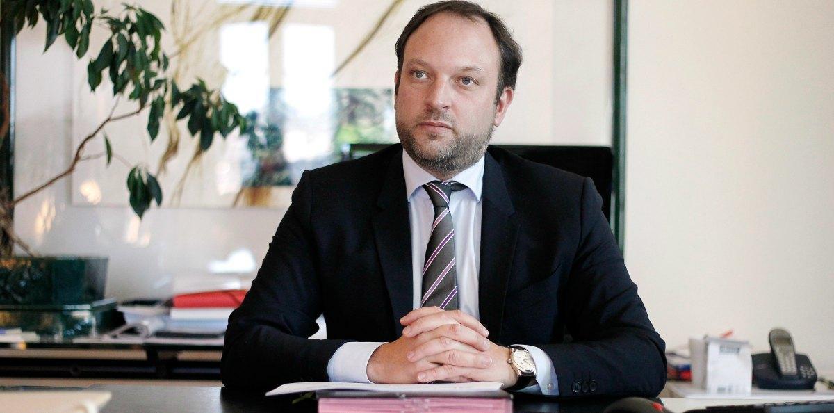 Le directeur général du CHU de Nice, Charles Guepratte.