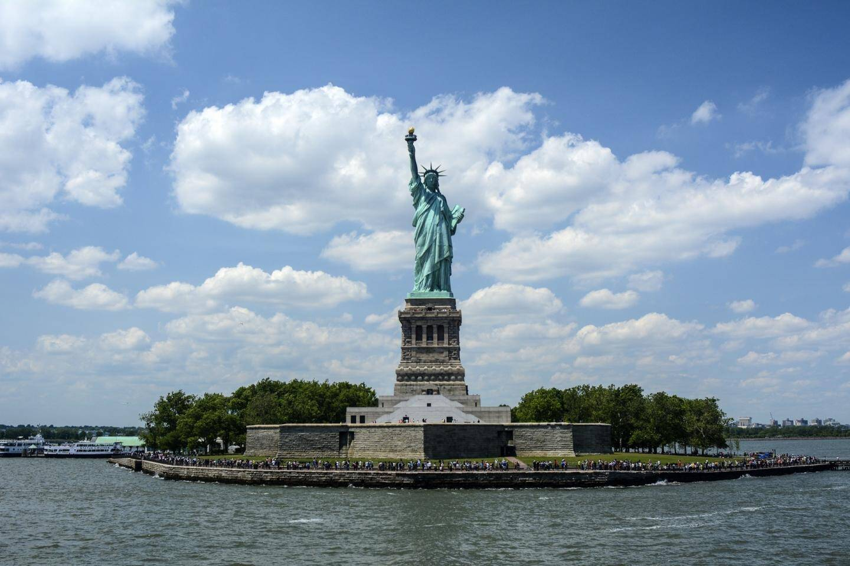 La statue de la liberté, à New-York.