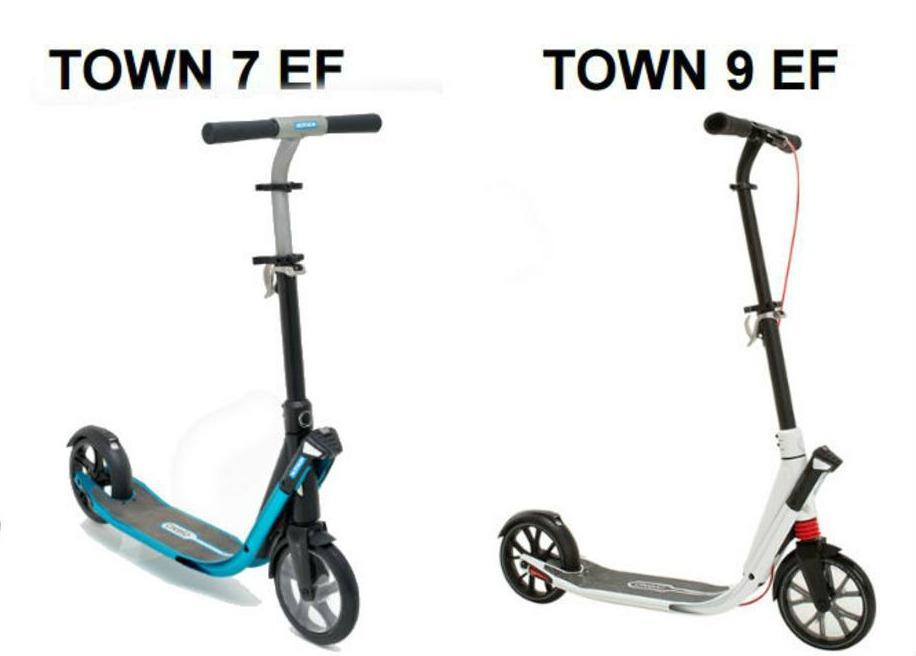 Les modèles Oxelo Town 7EF et Town 9 EF sont concernés.
