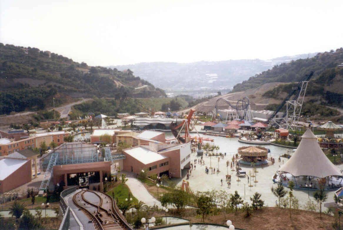 Le parc d'attractions niçois.