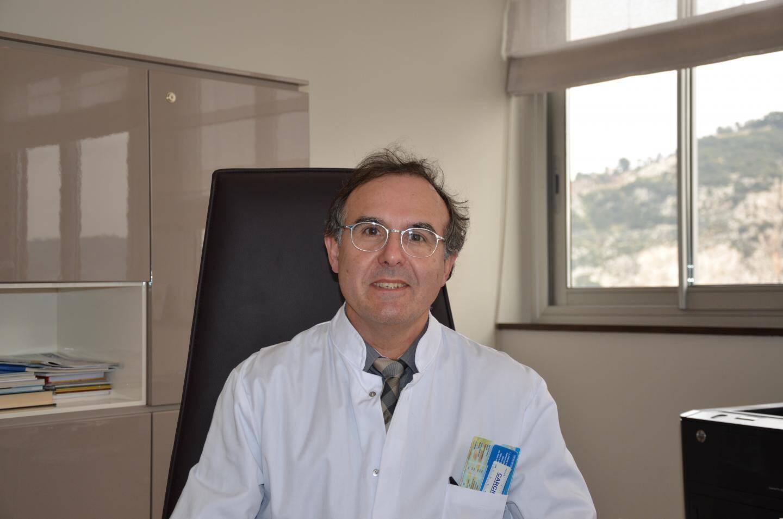 Le le Pr Guigay, directeur du Centre Antoine-Lacassagne, à Nice.