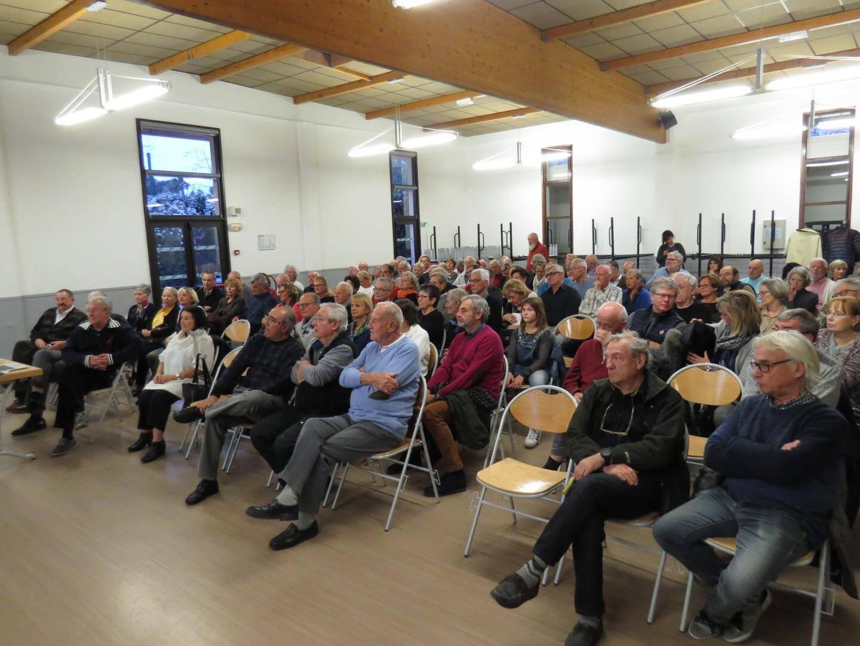 De nombreux adhérents ont fait le déplacement pour assister à l'assemblée générale de l'association des Pointus.