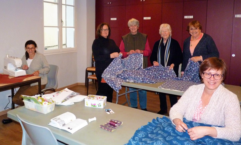L'Atelier Couture de la Bravade, en préparation...