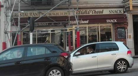 De l'extérieur, le restaurant a l'air fermé.