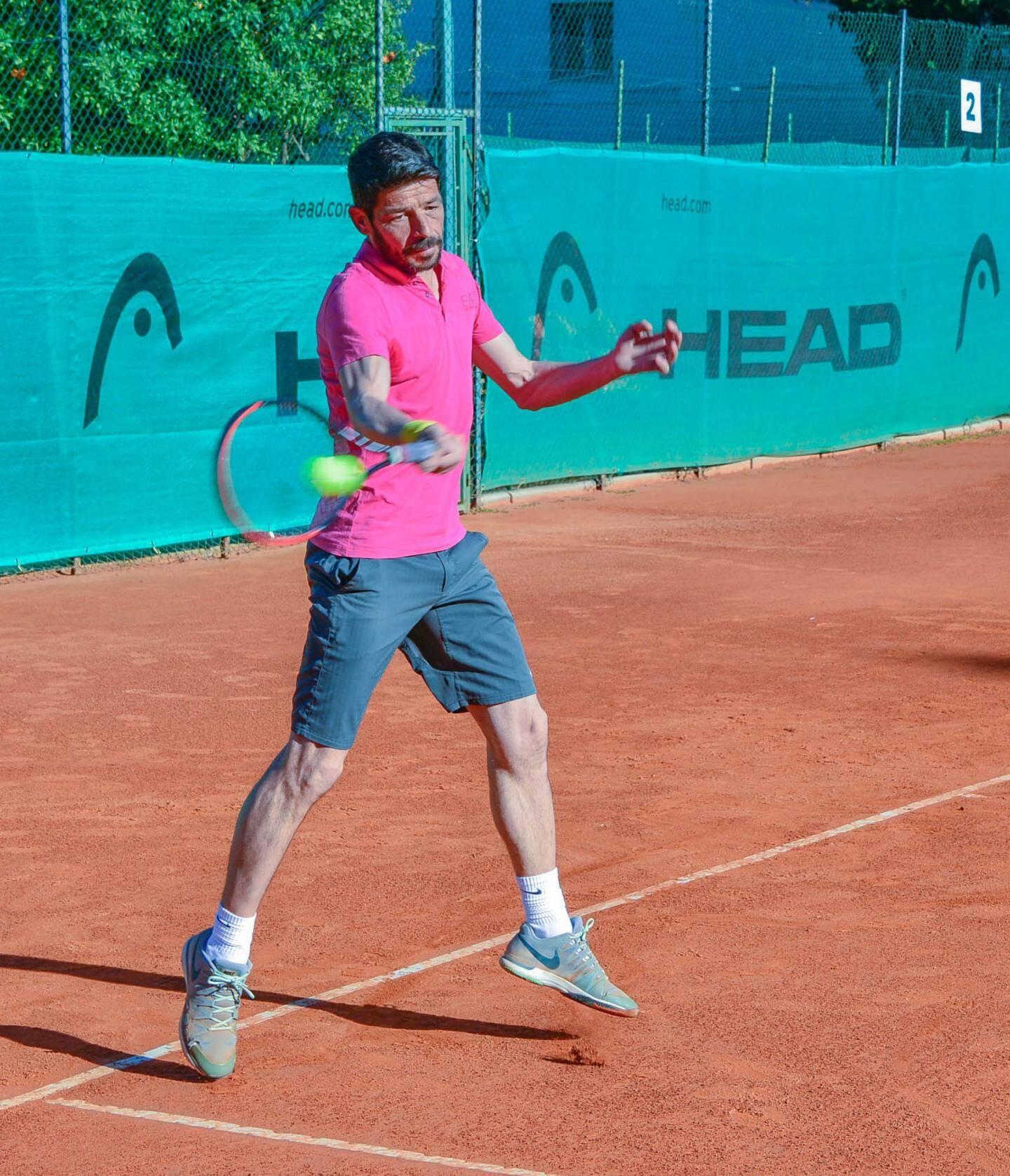 Benoît Chatel remporte le tableau + 40 ans.