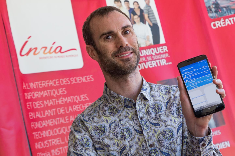 """Arnaud Legout: """"Plus les utilisateurs de l'application seront nombreux et plus notre compréhension de l'exposition aux ondes électromagnétiques sera importante."""""""
