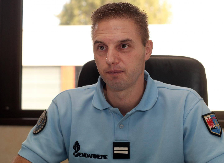 Le lieutenant Frédéric Calais quittera ses fonctions au mois d'août.